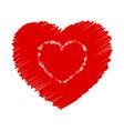 crayon valentine 16 000 vector image vector image