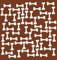 dog bone texture vector image vector image