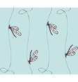 Dragonflies pattern vector image