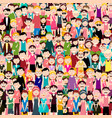 group of people flat design men and women in vector image vector image
