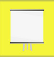 whiteboard vector image vector image