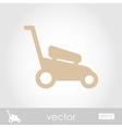 Lawn Mowers icon garden vector image vector image