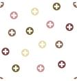 Medical Cross Seamless Flat Pattern vector image vector image