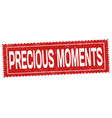 precious moments sign or stamp vector image vector image