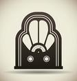 Radio vintage design vector image vector image