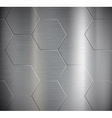 texture metal vector image vector image