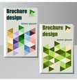 Very high high quality original brochure design vector image vector image