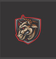 bull mascot vector image