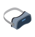 Virtual reality headsets icon isometric 3d style vector image vector image