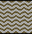 zigzag angle wave lines with gold glitter seamless vector image