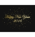 happy new year snowflakes holiday winter vector image