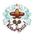 Mexico Sketch vector image