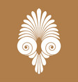 ancient swirl greek ornament and vector image vector image