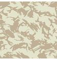 British desert camouflage seamless pattern vector image