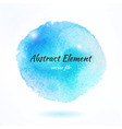 Colorful Watercolor Abstract Element vector image vector image