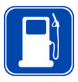 gas station sign vector image vector image