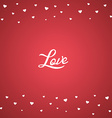 happy valentine greetings vector image vector image