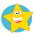 Happy Yellow Star vector image vector image