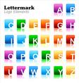 Lettermark logo elements