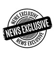 news exclusive rubber stamp vector image vector image