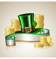 Patrick day card vector image vector image