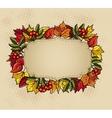 Thanksgiving baner vector image vector image