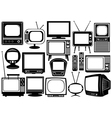 Tv set collage vector | Price: 1 Credit (USD $1)
