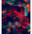 Abstract 2D geometric background Vintage Color vector image