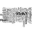 are you ready for an it service text word cloud vector image vector image