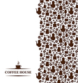 coffee vertical vector image vector image