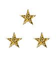 golden luxury stars vector image vector image