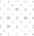 grain icons pattern seamless white background vector image vector image