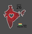 india happy republic day poster background vector image