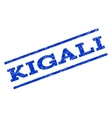 Kigali Watermark Stamp vector image vector image