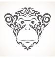 monkey Tribal style vector image