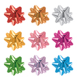 present bows vector image vector image
