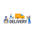 safe online delivery during coronavirus vector image