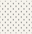 seamless pattern with arrows motif minimalist vector image vector image