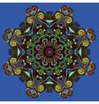 spiritual indian symbol lotus flower vector image