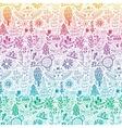 forest design floral pattern vector image vector image