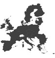 map of the european union 2013 vector image