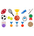sport icon sign symbol set vector image vector image