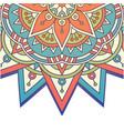 vintage mandala rowel design image vector image