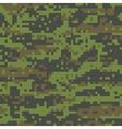 woodland digital camo pattern vector image