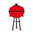 bbq barbecue grill icon image vector image vector image