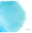 blue watercolor squarer background vector image vector image