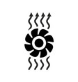exhaust fan ventilation icon vector image vector image