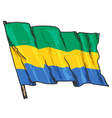 flag of Gabon vector image vector image