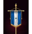 Flag of Nicaragua Festive Vertical Banner vector image vector image
