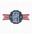 Independence Day Sale vintage Label vector image vector image